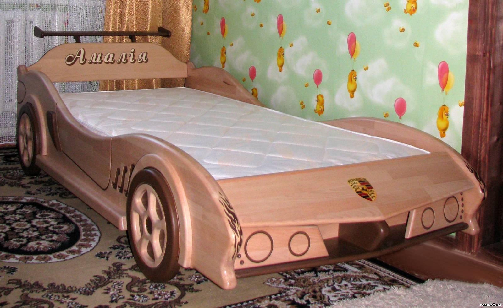 Кровать машинка своими руками фото